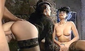 Deborah Wells, Elodie John Holmes, Cindy Wilson in classic fuck video