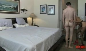 Hot Cougar Fucks A 20 Year Old Guy