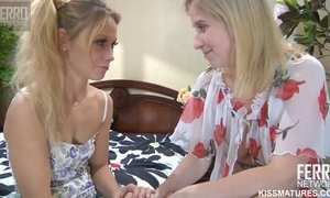 Heart-Stopping Russian Lesbians Make Love With Red Dildo