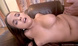 ass lovers, blowjob, brunette, cute mom, doggy, hardcore