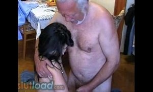 Older grandpa and teen - SlutLoad.com