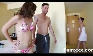Family Vacation Turns Into Sibling fucking| Famxxx.com