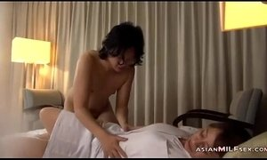 facial, fingering, hardly fucked, lady, mature, moms in bed