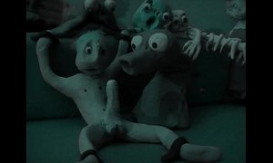 Clay Animation weird porn