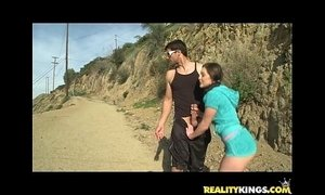 Gracie Glam gets her sweet peice of pussy pounded properly by Ramon