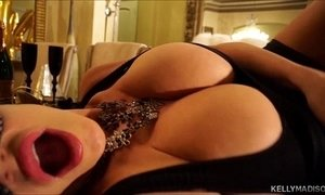 Masquerade kelly madison blows in the new year