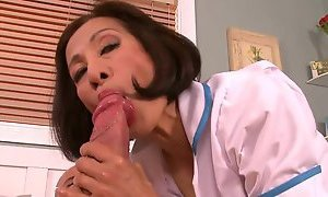 Huge Dick For Asian Nurse Milf
