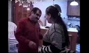 Fat turkish couple