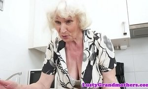 Saggy grandma with bigtits gets fucked hard